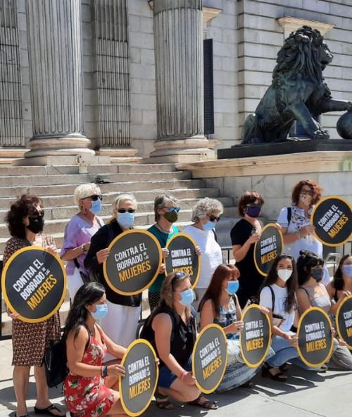 Contra el borrado de las mujeres en el Congreso de Diputados