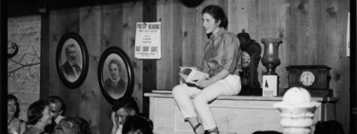 Diane Di Prima recitando poemas
